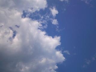 真夏の空・・・