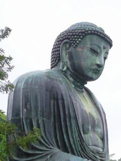 雨の鎌倉大仏